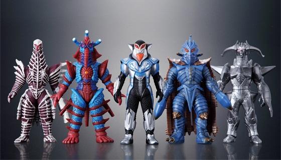 ウルトラ怪獣シリーズ ダークネスファイブ サンプル