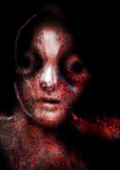 妹の頭、母の体 これを見た者に呪いを