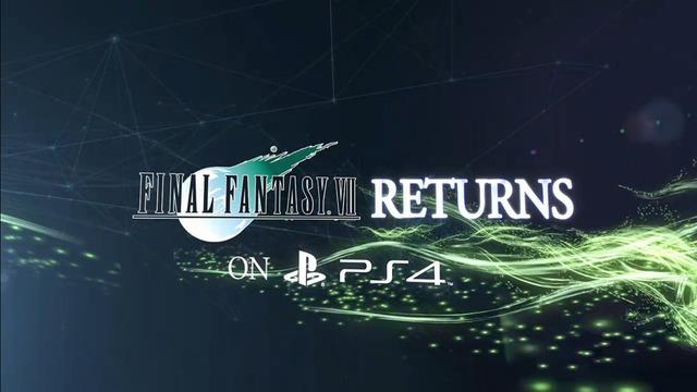 PS4 FF7 発売 顔