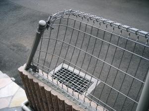 フェンス破損