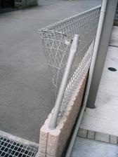 フェンス破損 (1)