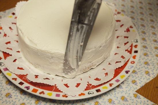 バースデーケーキ作り