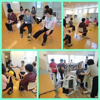 シニア健康教室2013.5.24