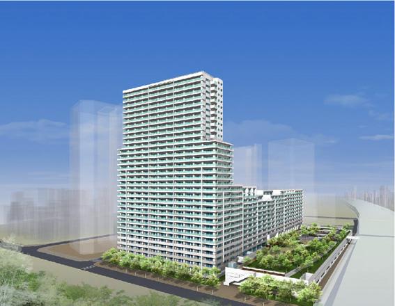 武蔵浦和第3街区完成予想図1