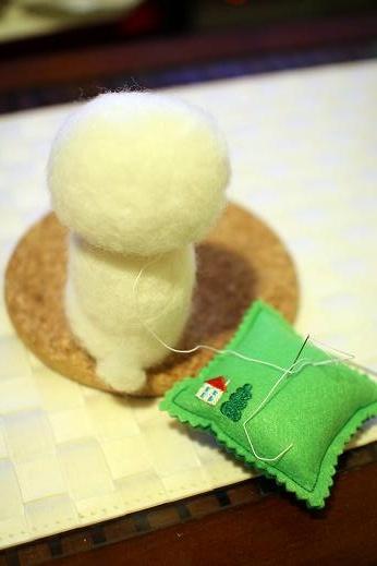 羊毛に挑戦してみた part 1