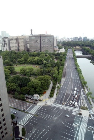 THE PENINSULA TOKYO 滞在記 ~早朝散歩とか朝ごはんとか~ (9)