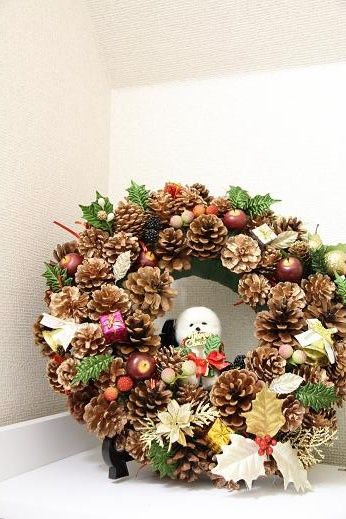 クリスマスリース (5)