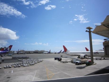 JALで日本へ