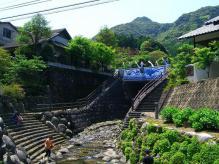 11:45 下から見た鍋島藩窯橋