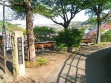 16:32 大浦展望公園 ・・・ ベンチが2つあるだけの公園