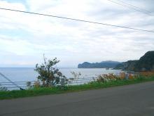 店の前は海です。