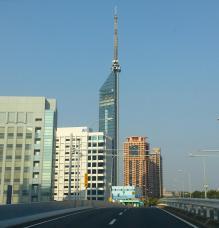7:41 都市高速から見える 福岡タワー