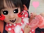 ブログ用ミニーちゃんアイス