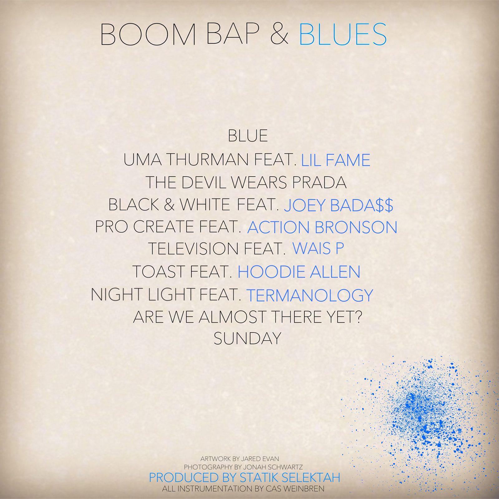 Jared Evan - Boom Bap & Blues2