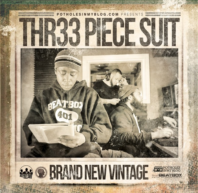 Thr33 Piece Suit - Brand New Vintage