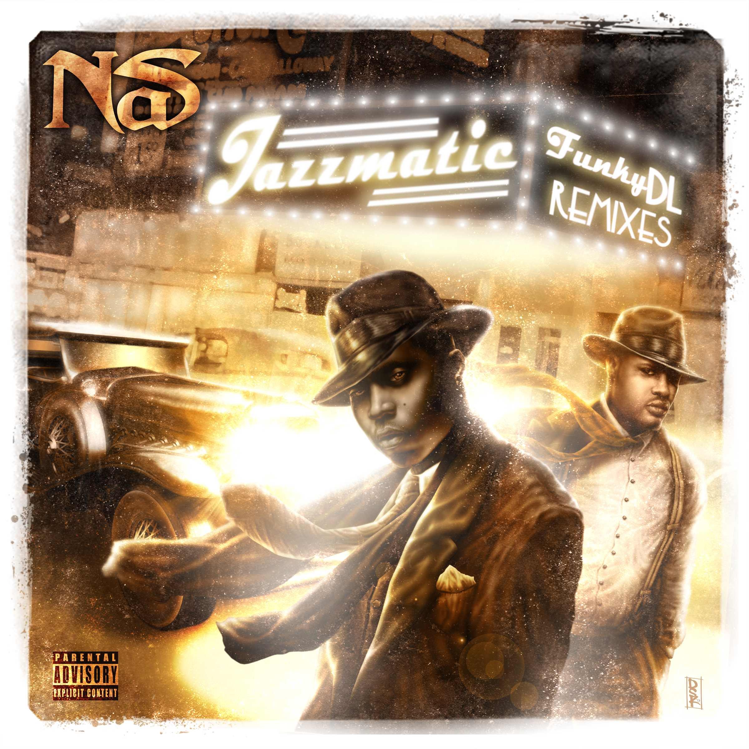 Funky DL - Jazzmatic[Nas Remixes]