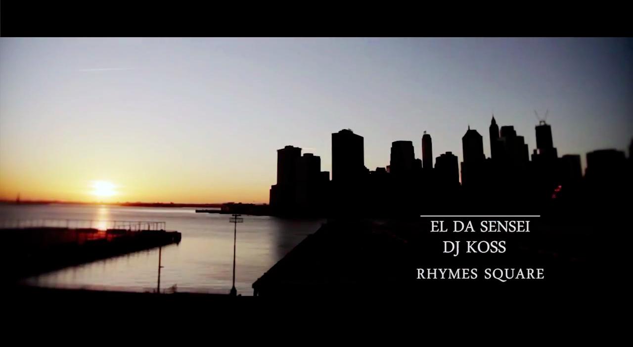 Koss & El Da Sensei – Rhymes Square2