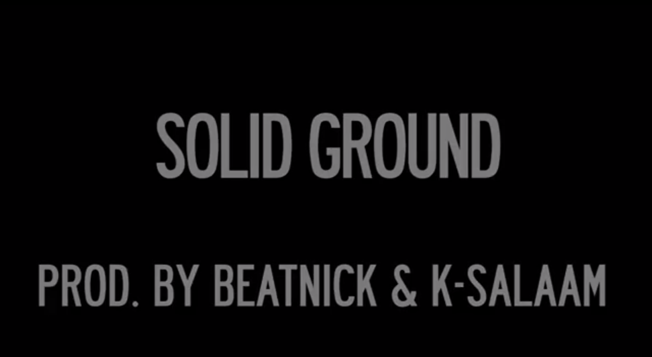 Smif N Wessun - Solid Ground Ft. Junior Reid