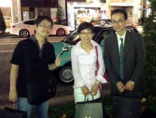 20130909眞邊先生と木村さん銀座王朝