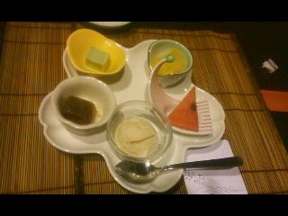 5種盛りデザート