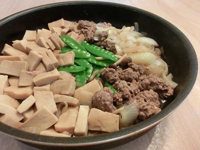 高野豆腐のすき焼き