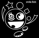 smile Bob(黒)四角