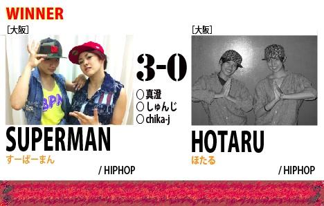 VS19_SUPERMAN vs HOTARU