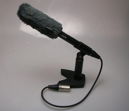 鋭指向性ビデオマイク SONY ECM-VG1