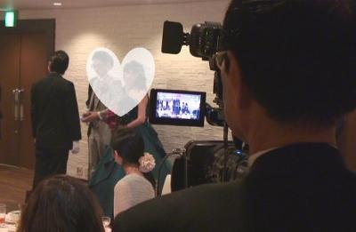 結婚式ビデオ撮影・ビデオカメラマン札幌