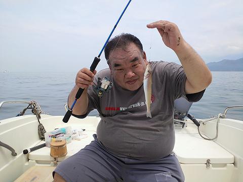 キス釣り2012年7月