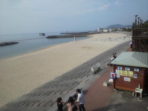 ふたみシーサイド公園砂浜30