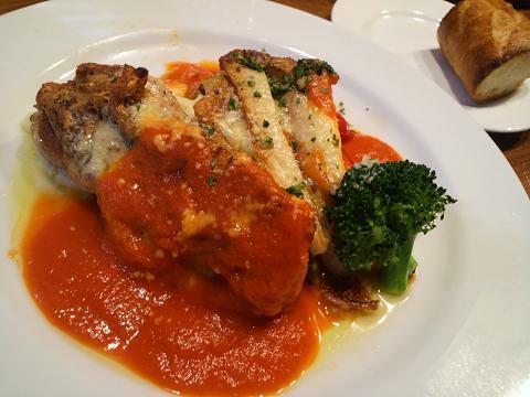 チキンのトマトソース30