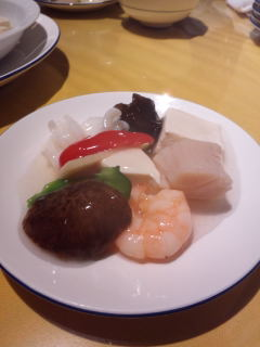 豆腐の海鮮あんかけ