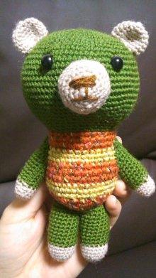 $超絶初心者(+ズボラ)のものつくり-緑クマ