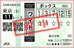 東京11R