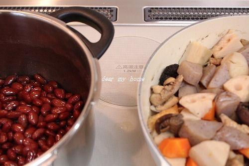豆さんと煮もの