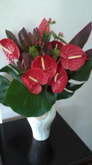 トロピカル花束