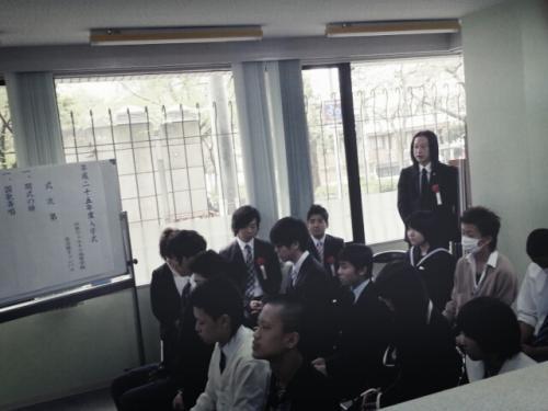 2入学式4