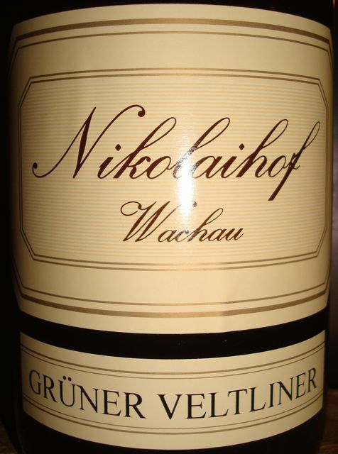 Nikolaihof Vachau Gruner Veltliner 2007