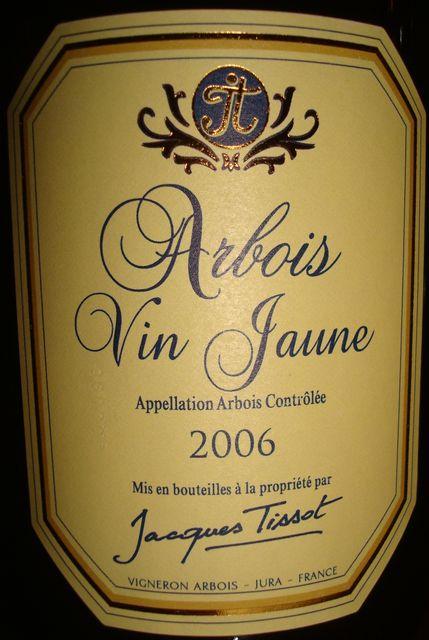 Arbois Vin Jaune Jacques Tissot 2006