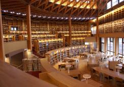 国際教養大 図書館