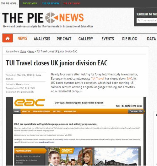 EAC news