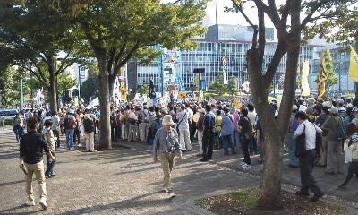 130929渋谷大行進3デモ出発