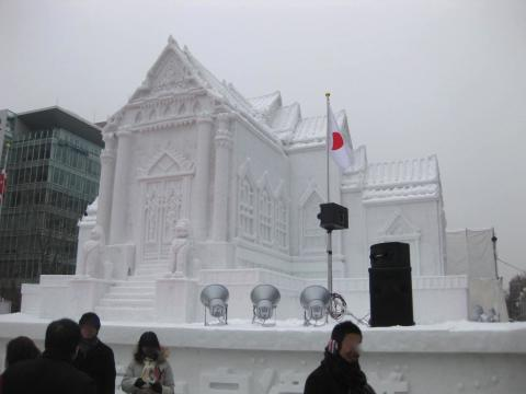 さっぽろ雪まつり大理石寺院211