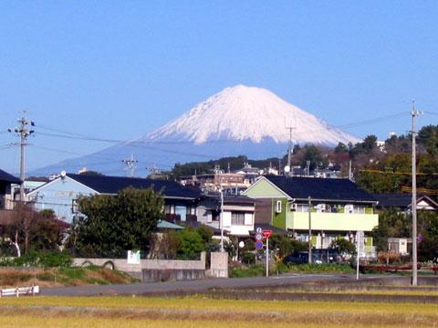 富士山が見える景色