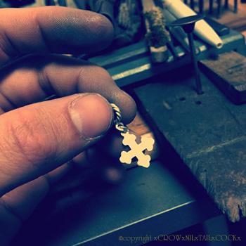 十字架パーツ Silver925