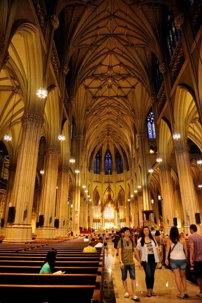 NY_セントパトリック教会2