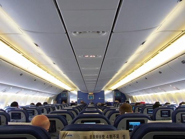 KLM機内の様子