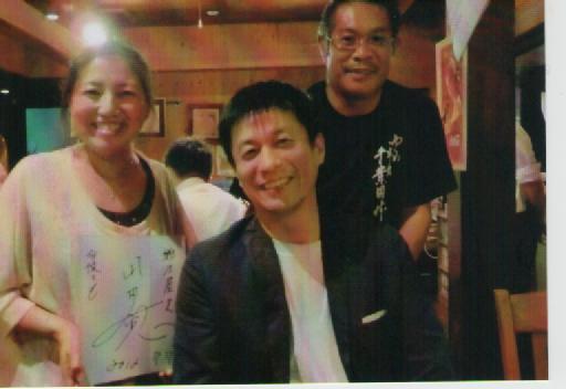 山田雅人さんとヒュッテにて