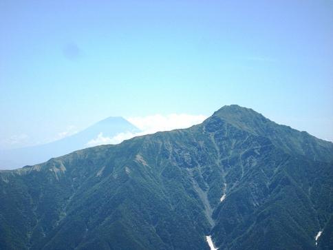 1甲斐駒ケ岳~仙丈ケ岳 023-001